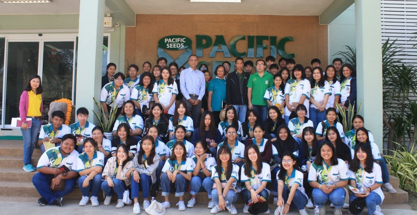 Pacific educates students in the Department of Animal Science, Faculty of Agriculture from Kasetsart University.